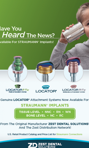 Genuine LOCATOR® Attachment Systems Now Available For